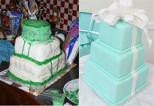 Gâteau trois niveaux