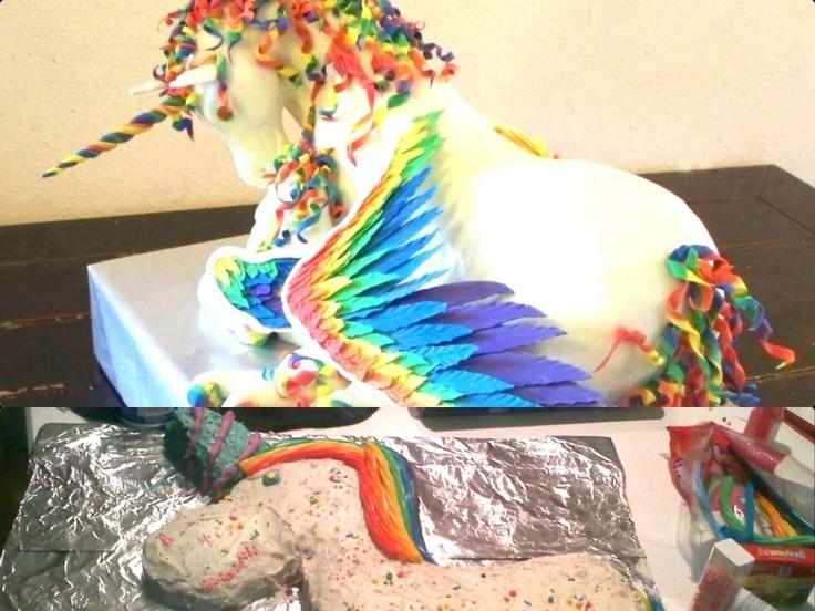 Photos  les pires gâteaux repérés sur pinterest