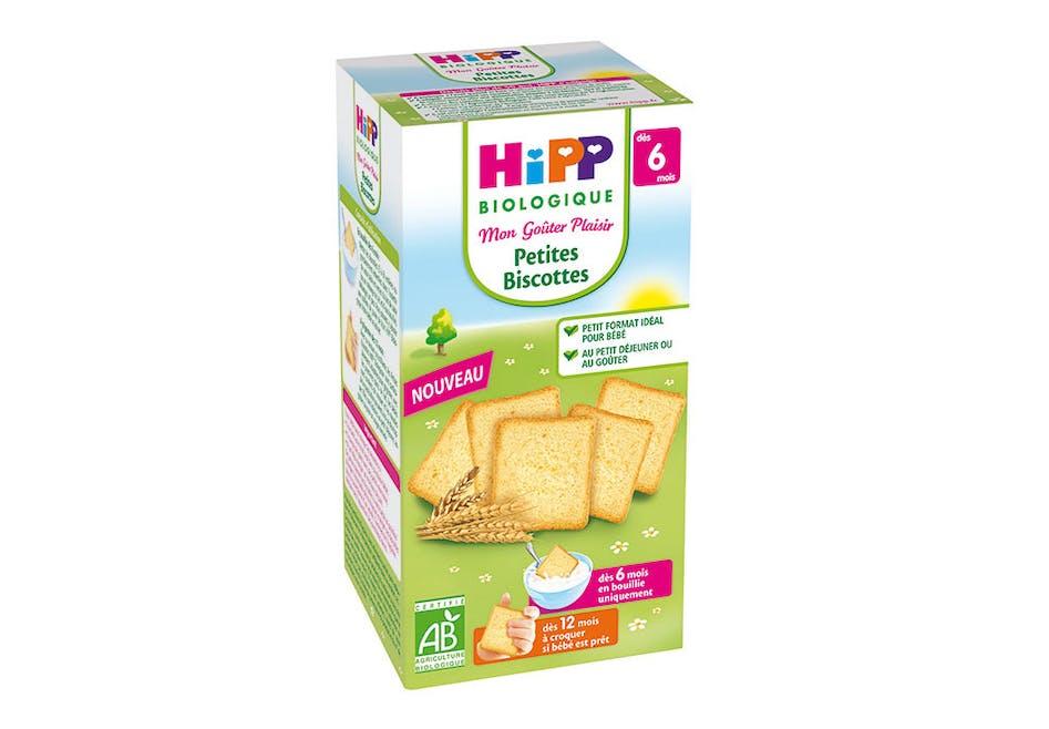 Biscottes Hipp Biologique