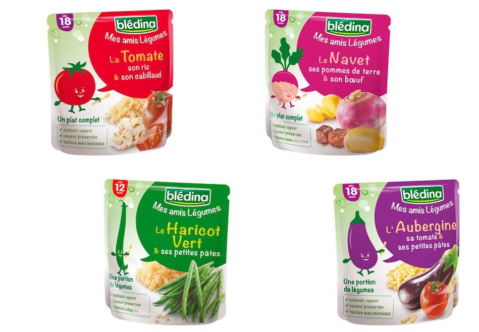 Mes Amis Légumes de Blédina