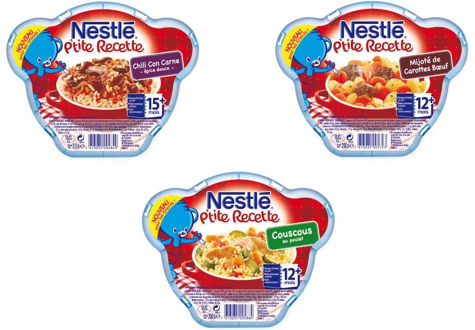 P'tite recette de Nestlé