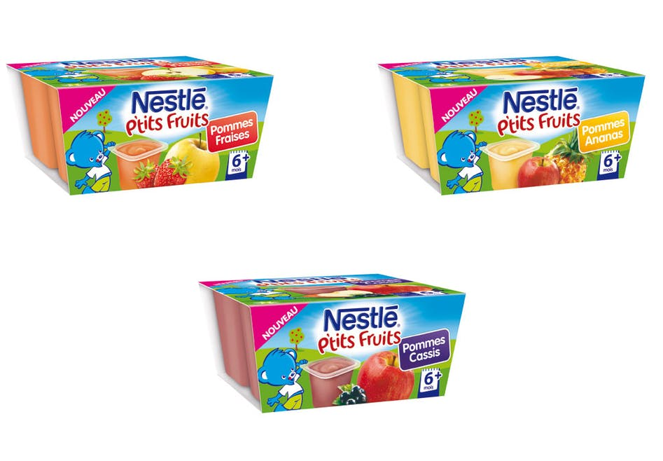 P'tits fruits de Nestlé