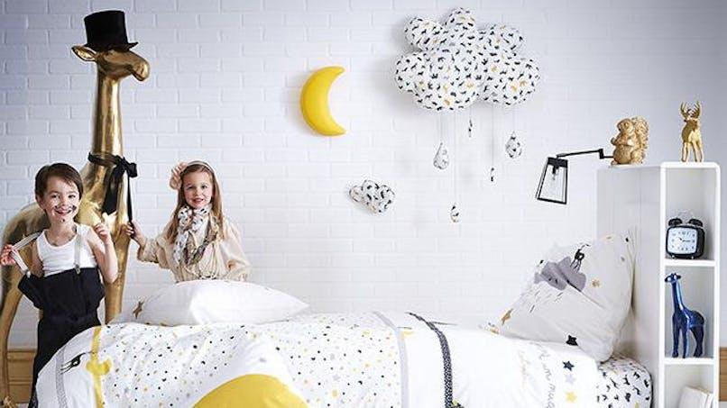 Chambres d'enfants : sélection de jolies parures de  lit