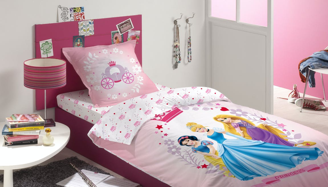 Parure de lit Disney Princess Diademe