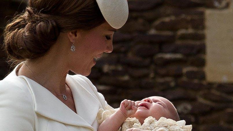 Royal baby 2 : les plus belles photos du baptême de la   princesse Charlotte