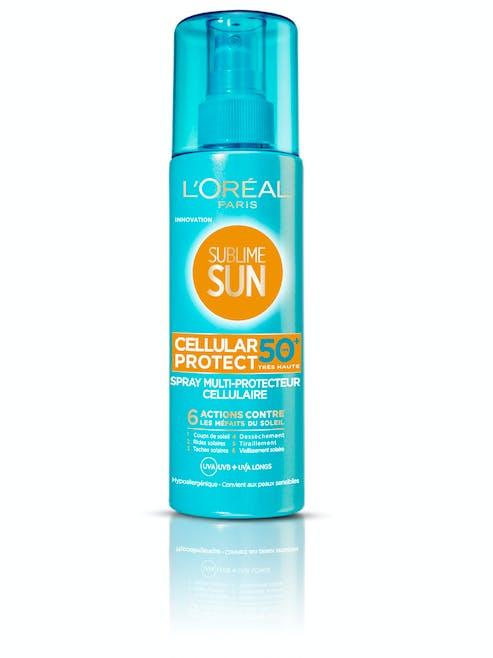 Sublime Sun Cellular Protect Spray Multi-Protecteur         Cellulaire SPF 50, L'Oréal Paris