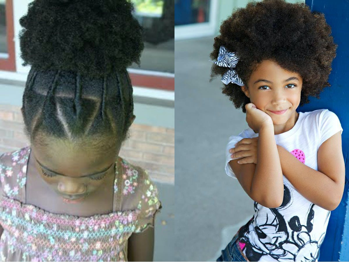Idee coiffure cheveux mi long afro