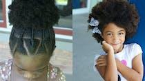 Cheveux crépus : 15 coiffures pour petite fille
