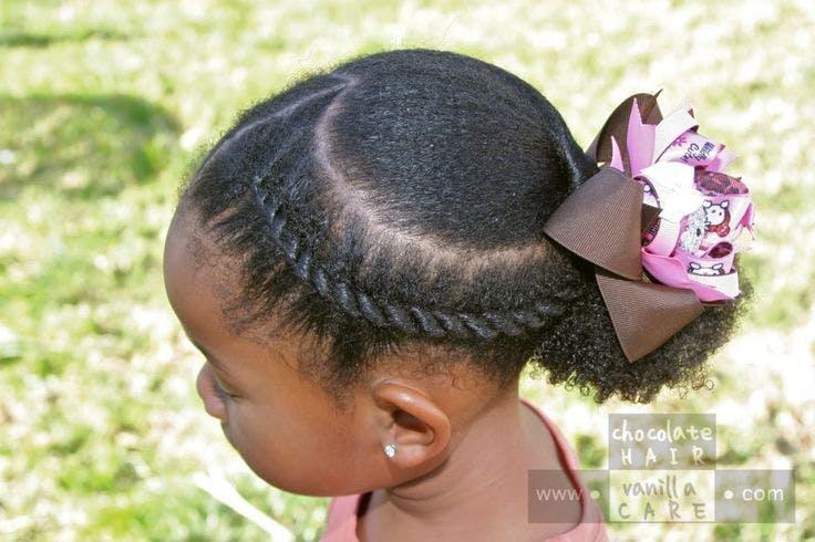 Photos 15 Coiffures De Petite Fille Pour Cheveux Crepus Parents Fr