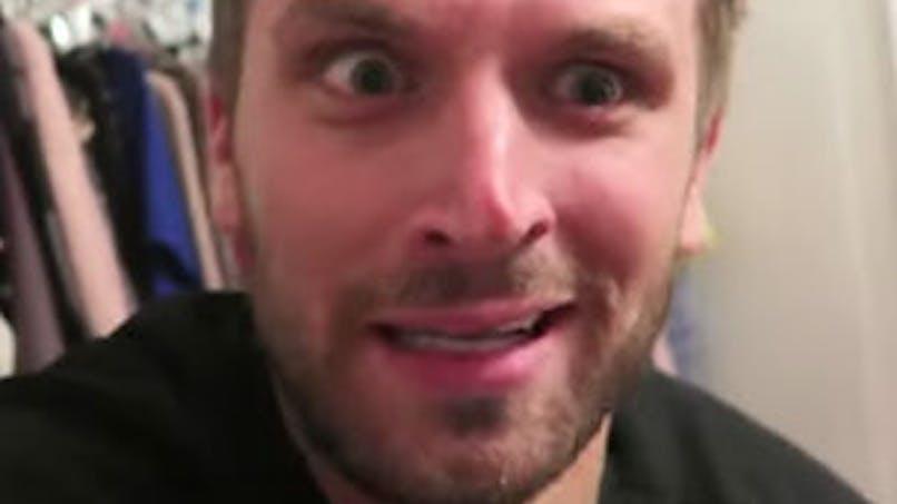 Vidéo : ce papa va annoncer à sa femme qu'elle est   enceinte !