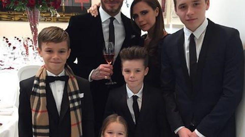 David Beckham : ses plus belles photos avec ses  enfants