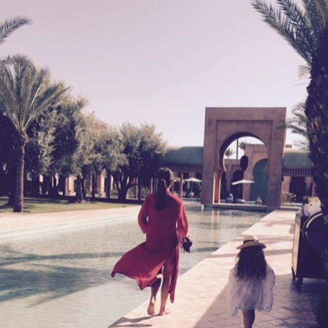 Victoria et Harper à Marrakech
