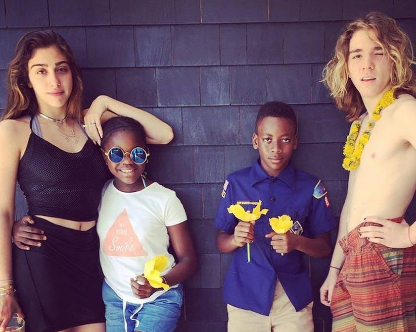 Les enfants de Madonna