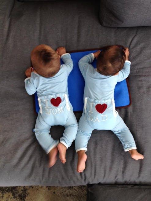 Les jumeaux de Zoe Saldana