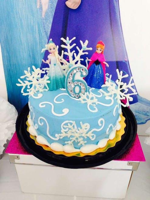 Gâteau Anna et Elsa