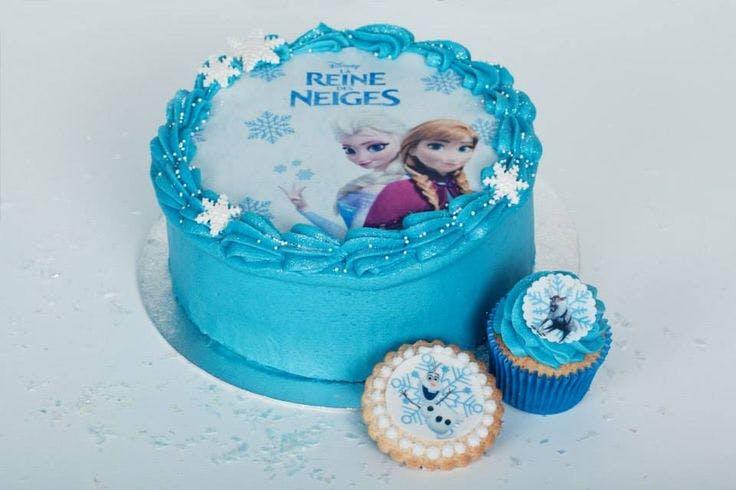 Gâteau Elsa et Anna