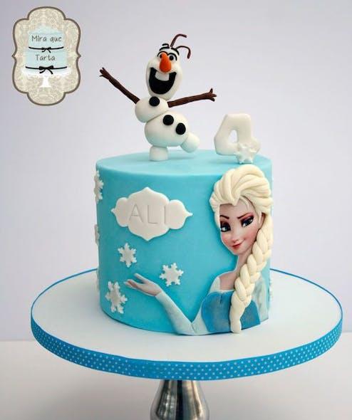 Gâteau Elsa et Olaf