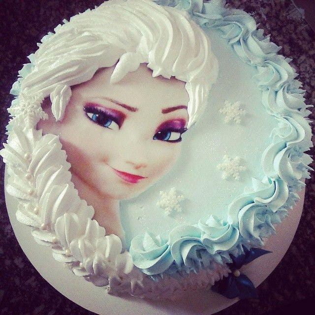 Gâteau à la crème Elsa