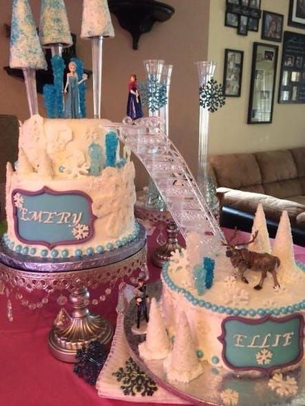 Gâteau deux pièces