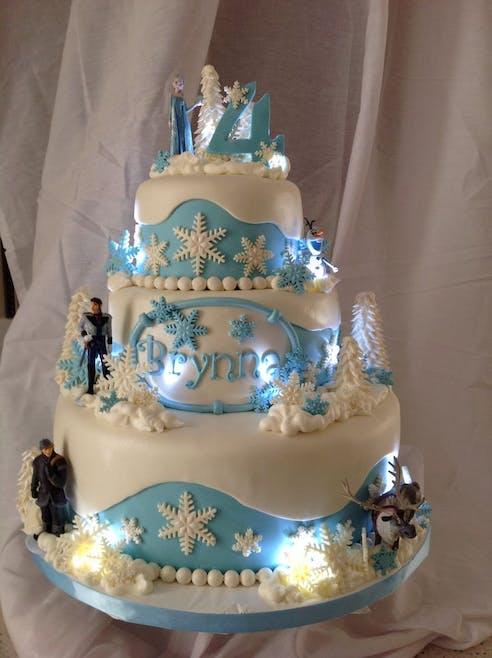 Gâteau lumineux