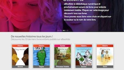 Bon plan : eBooKids, le premier site de lecture pour les   enfants