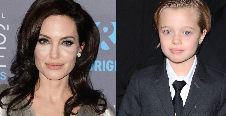 Angelina Jolie et sa fille Shiloh
