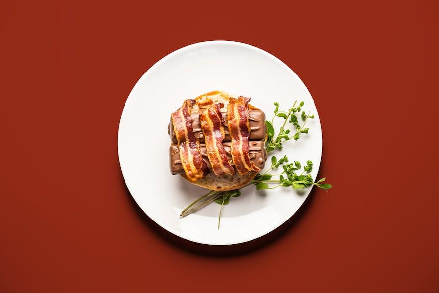 Burger de Mars au bacon