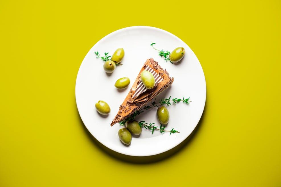 Cake chocolat olive