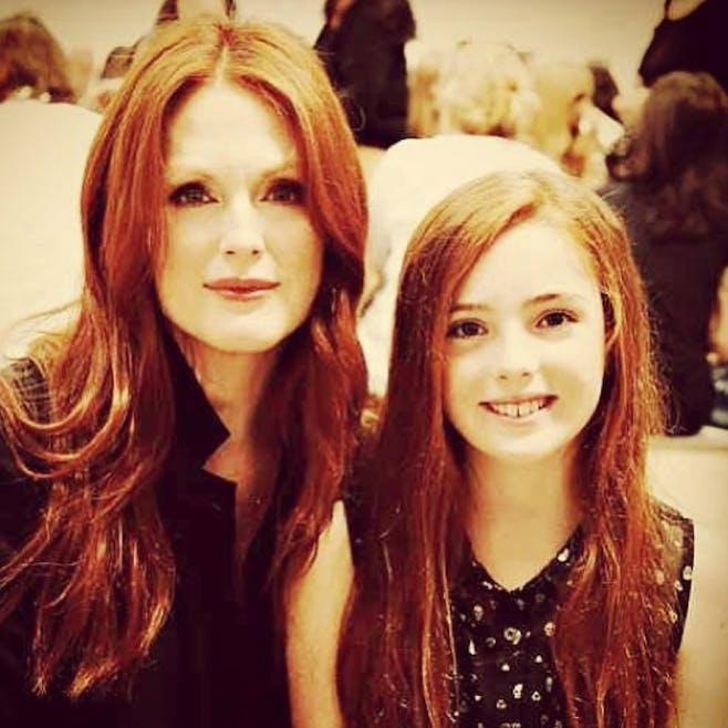 Julianne Moore et sa fille Liv