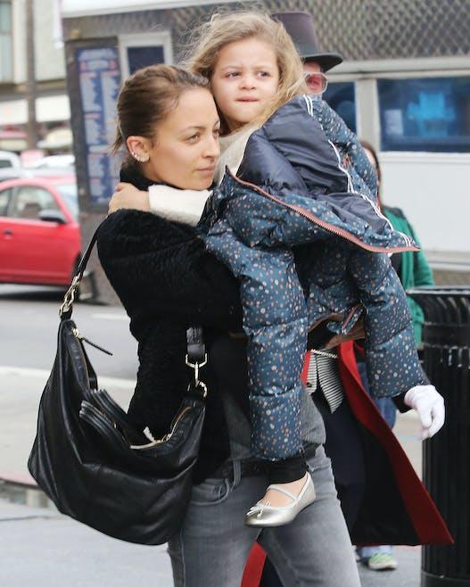 Nicole Richie et sa fille Harlow