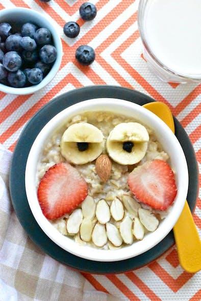 Des céréales et des fruits secs