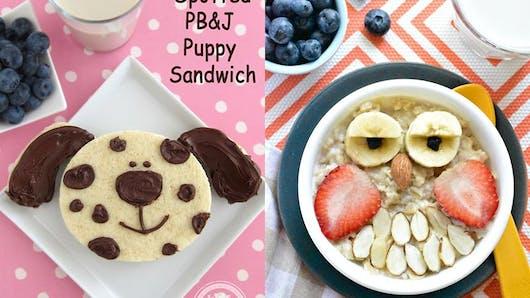 Photos : 20 petits déjeuners rigolos pour enfants