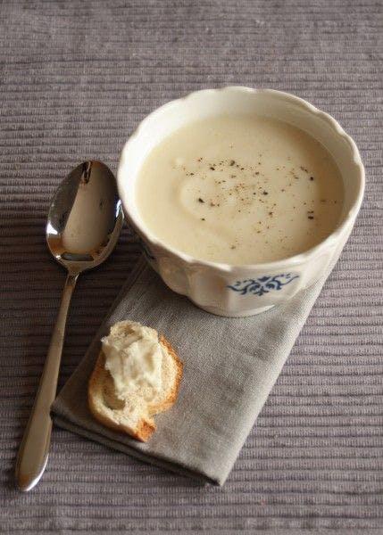 Soupe de chou-fleur et gorgonzola
