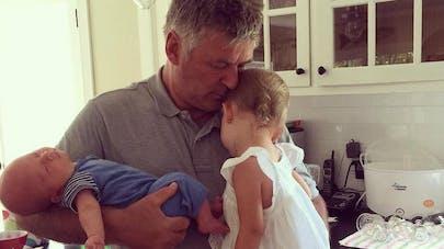 Alec Baldwin et ses enfants