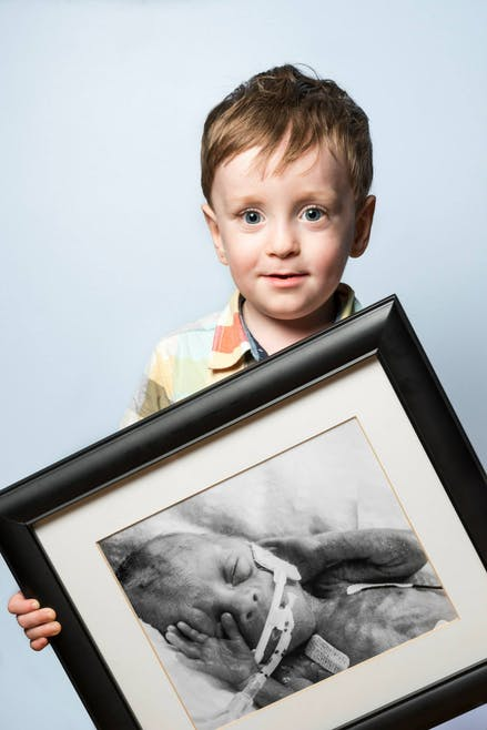 Félix, né à 24 semaines.