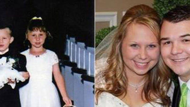 États-Unis : enfants d'honneur, ils se marient dans la   même église sans le savoir 17 ans après !