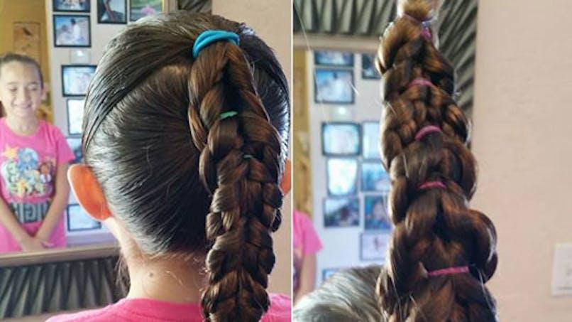 Etats-Unis : ce père veut aider les autres hommes à   coiffer leurs enfants