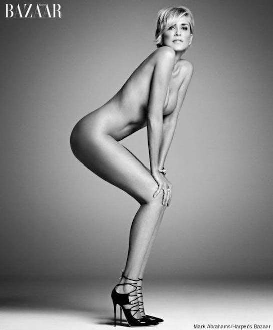 8- Elles posent nues sans problème !