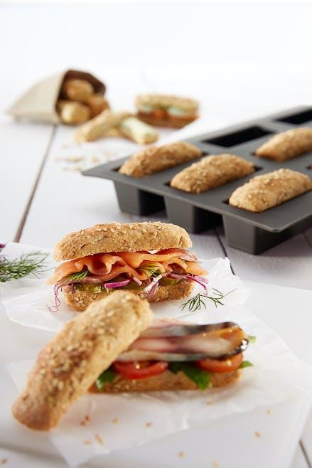 Mini Loaf Bread