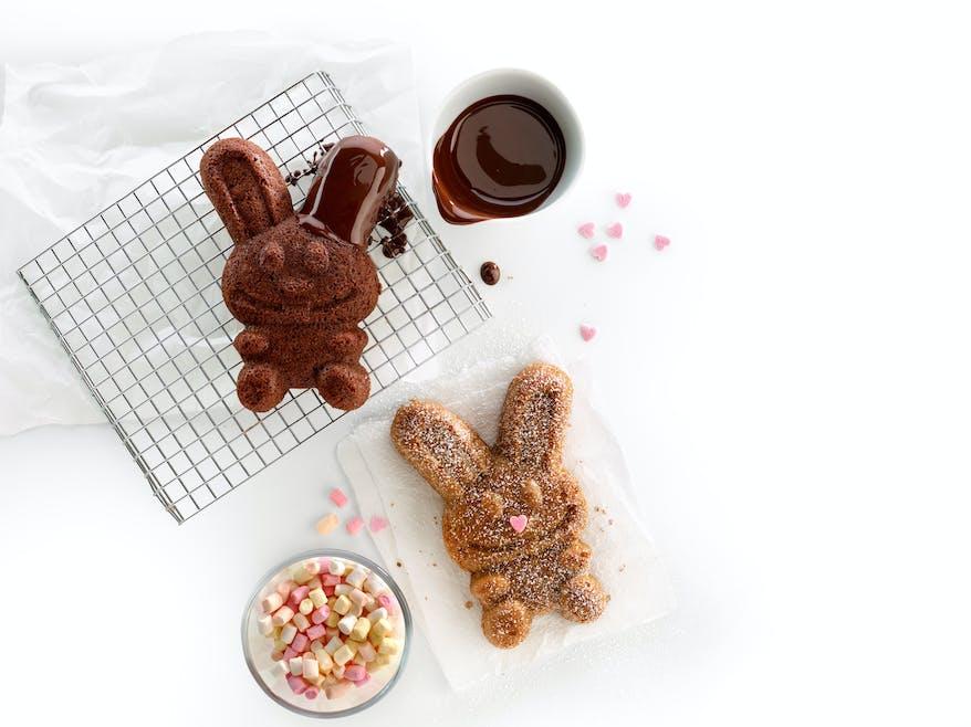 Moule mini rabbit cakes