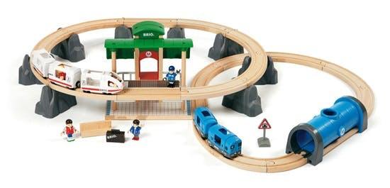 Circuit connexion train de voyageurs Brio