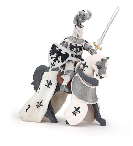 Figurine le chevalier blanc au cimier Papo