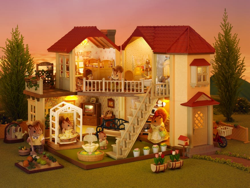 La grande maison éclairée Sylvanian Family