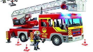 Le camion des pompiers Playmobil