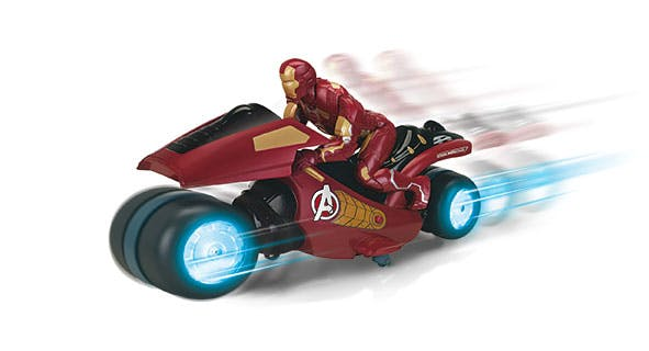 Moto Iron Man Disney