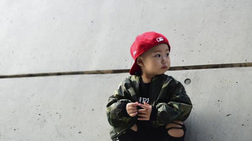 Photos : des enfants hipster à la Fashion Week de Séoul   !