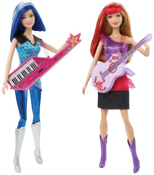 Poupée Barbie Rock et Royales