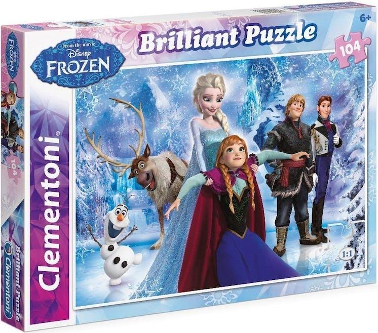 Puzzle Brillant la Reine des Neiges Clementoni