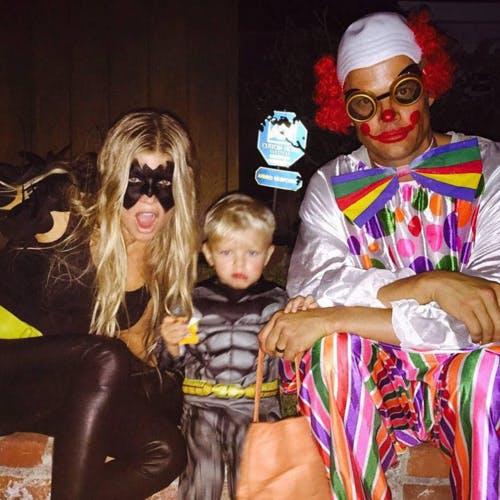 Fergie, son mari Josh Duhamel et leur fils Axl