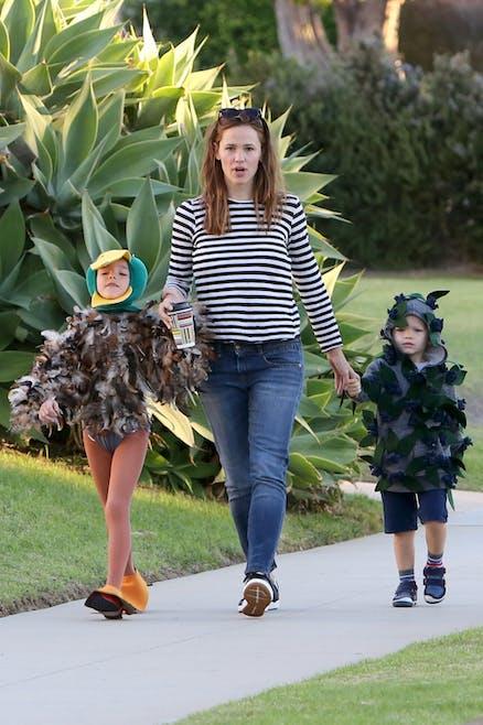 Jennifer Garner et ses enfants
